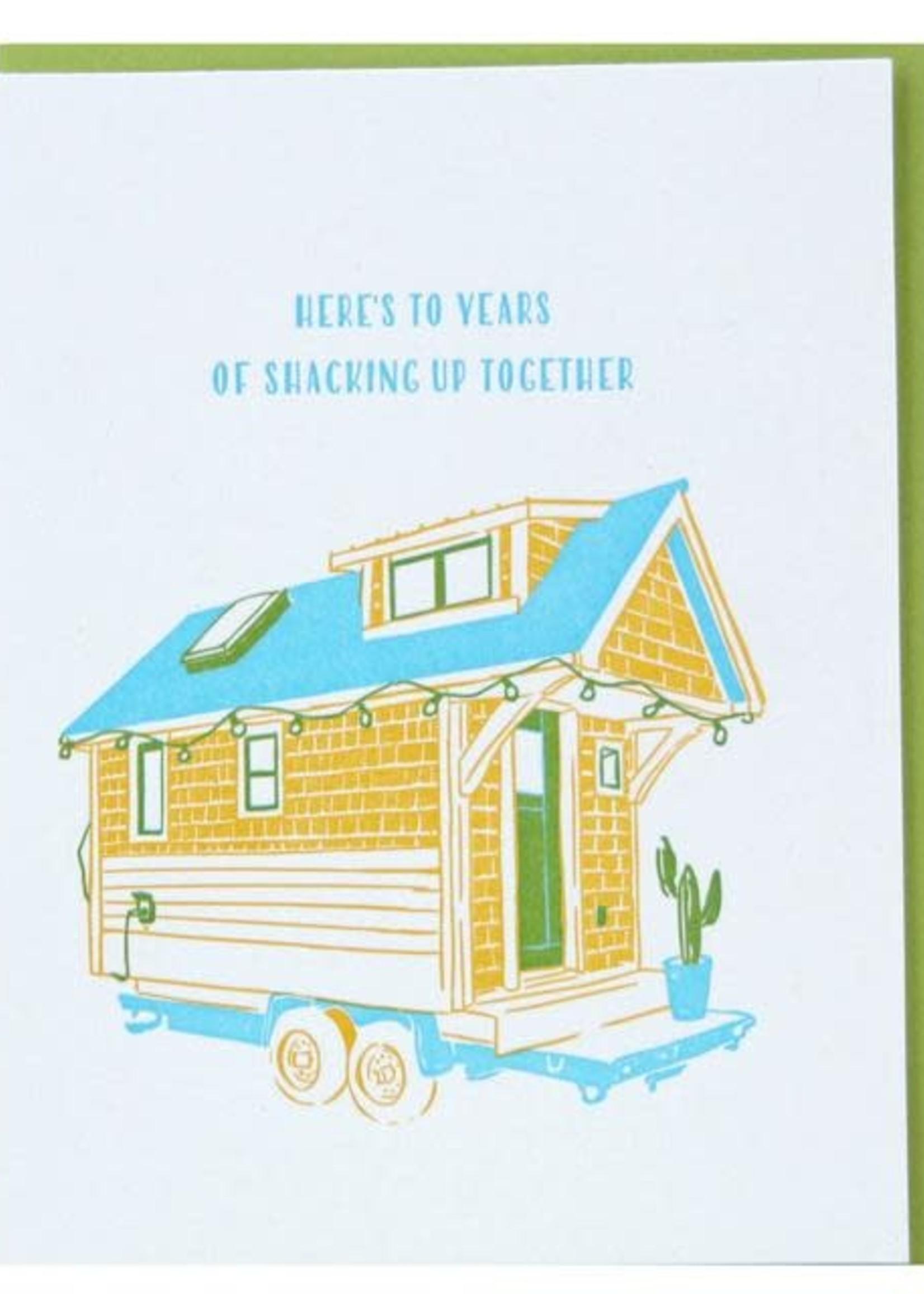 Tiny House Anniversary Card