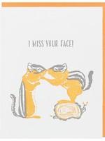 Chipmunk Nuzzle Friendship Card