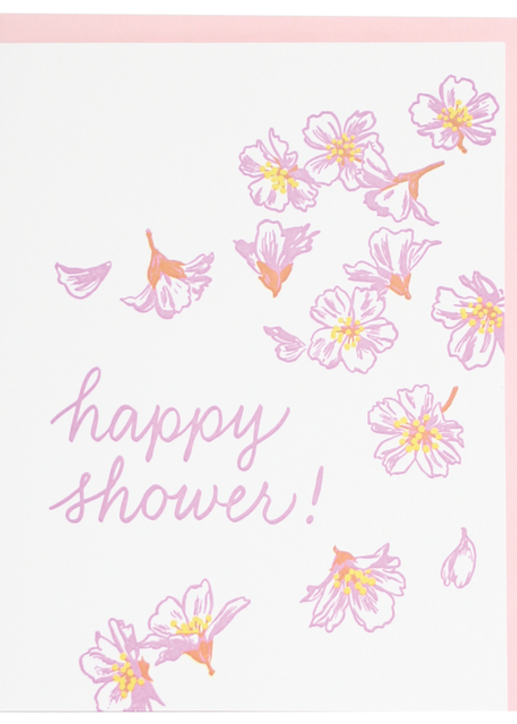 Blossoms Shower Card