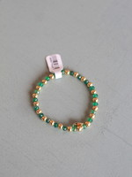 LPL Creations Green Beaded Bracelet