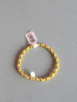 LPL Creations Yellow Beaded Bracelet