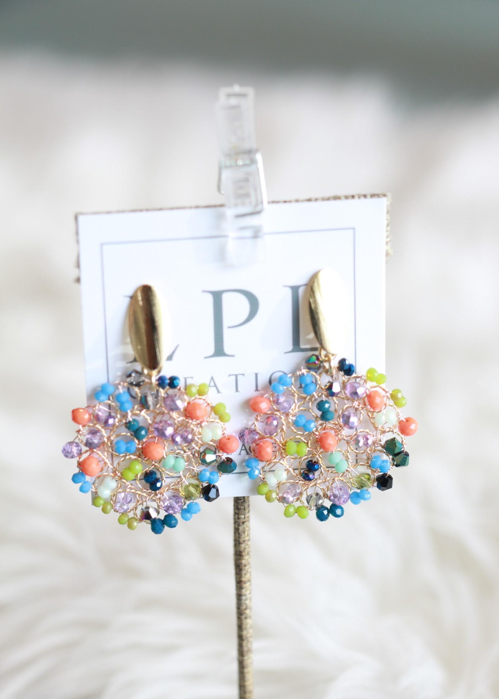 LPL Creations Turner Earrings in Multi