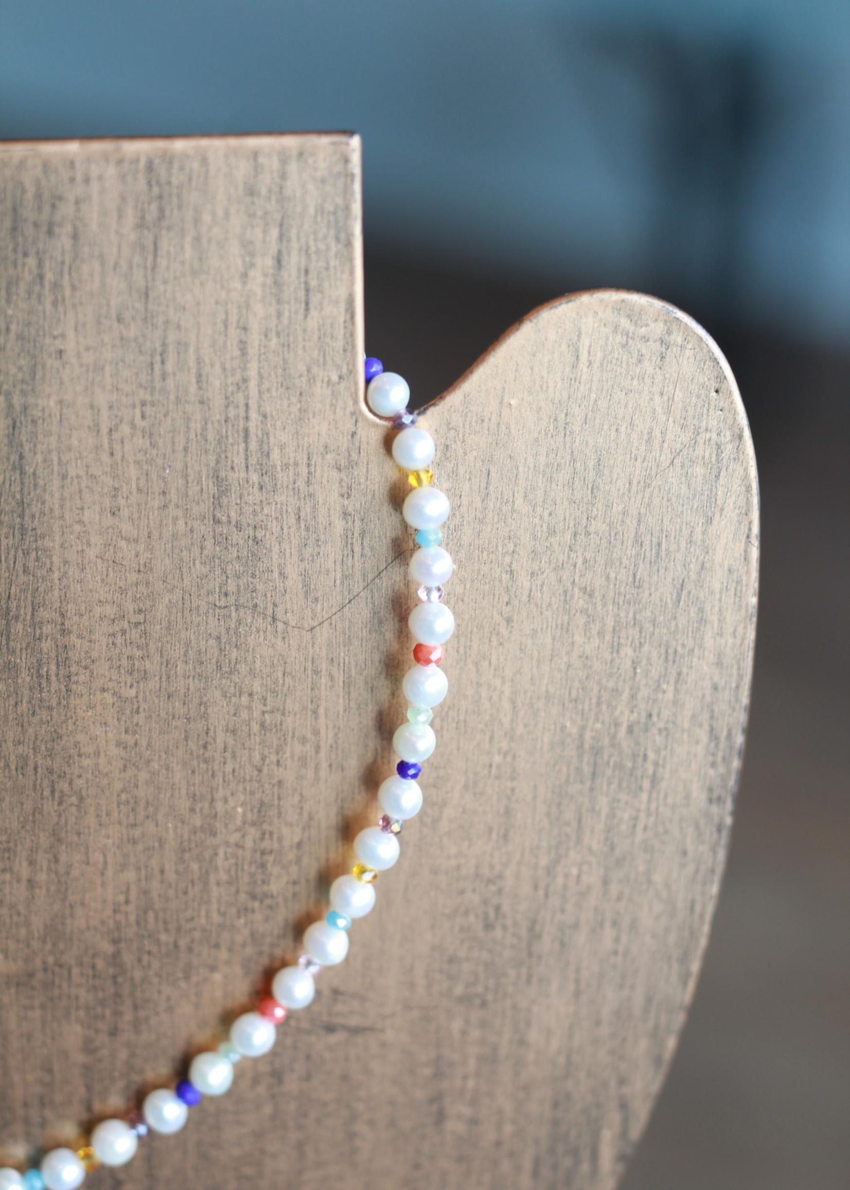 LPL Creations Soapie Necklace in Multi