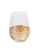 Fez Cut Stemless Wine Glass