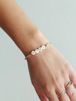 Local Squirrel Originals Mama Gold Beaded Bracelet