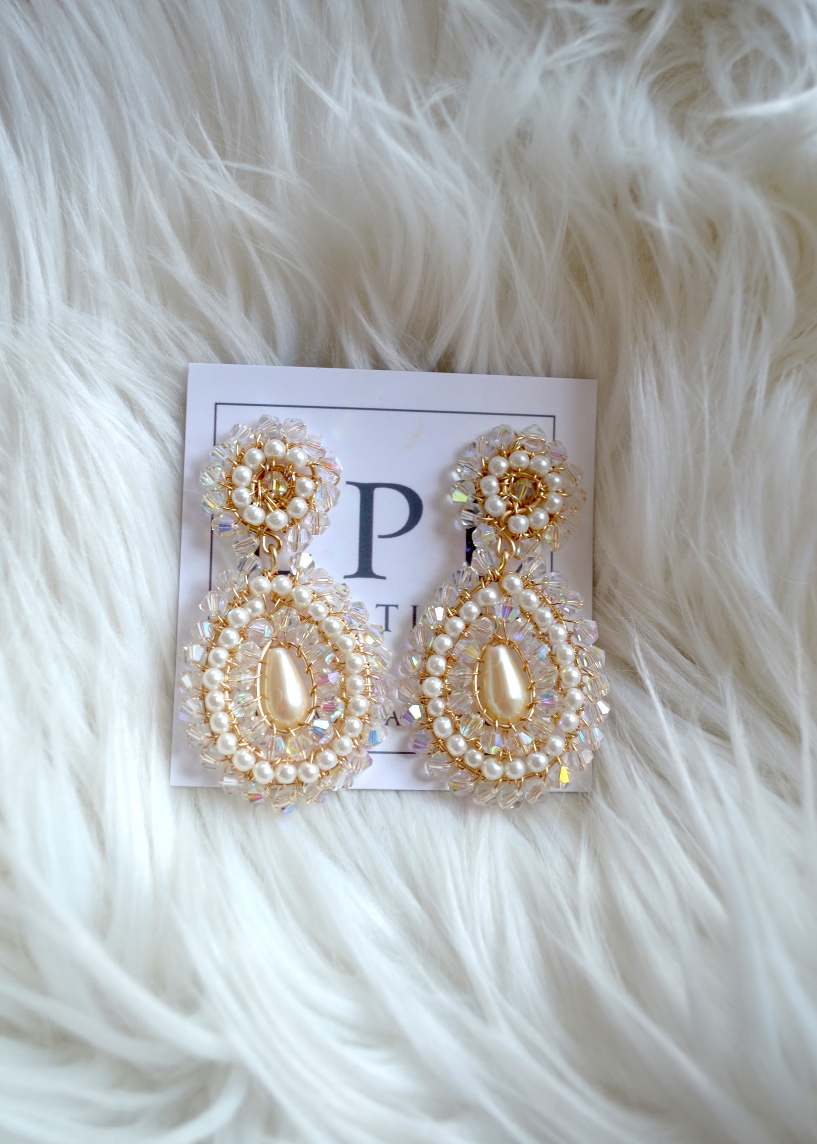LPL Creations Mia Princess Earrings