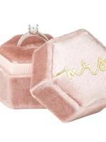 Mrs. Velvet Ring Box