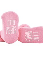 Pink Little Piggies Socks 3-12m