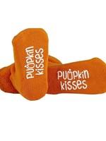 Orange Pumpkin Kisses Socks 3-12m