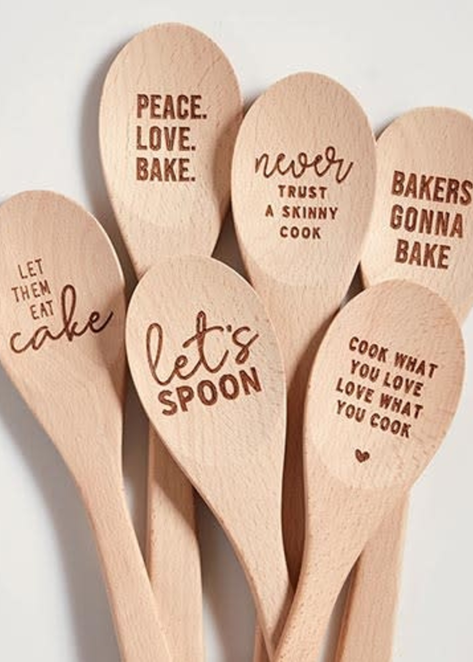 Let Them Eat Cake Cooking Spoon
