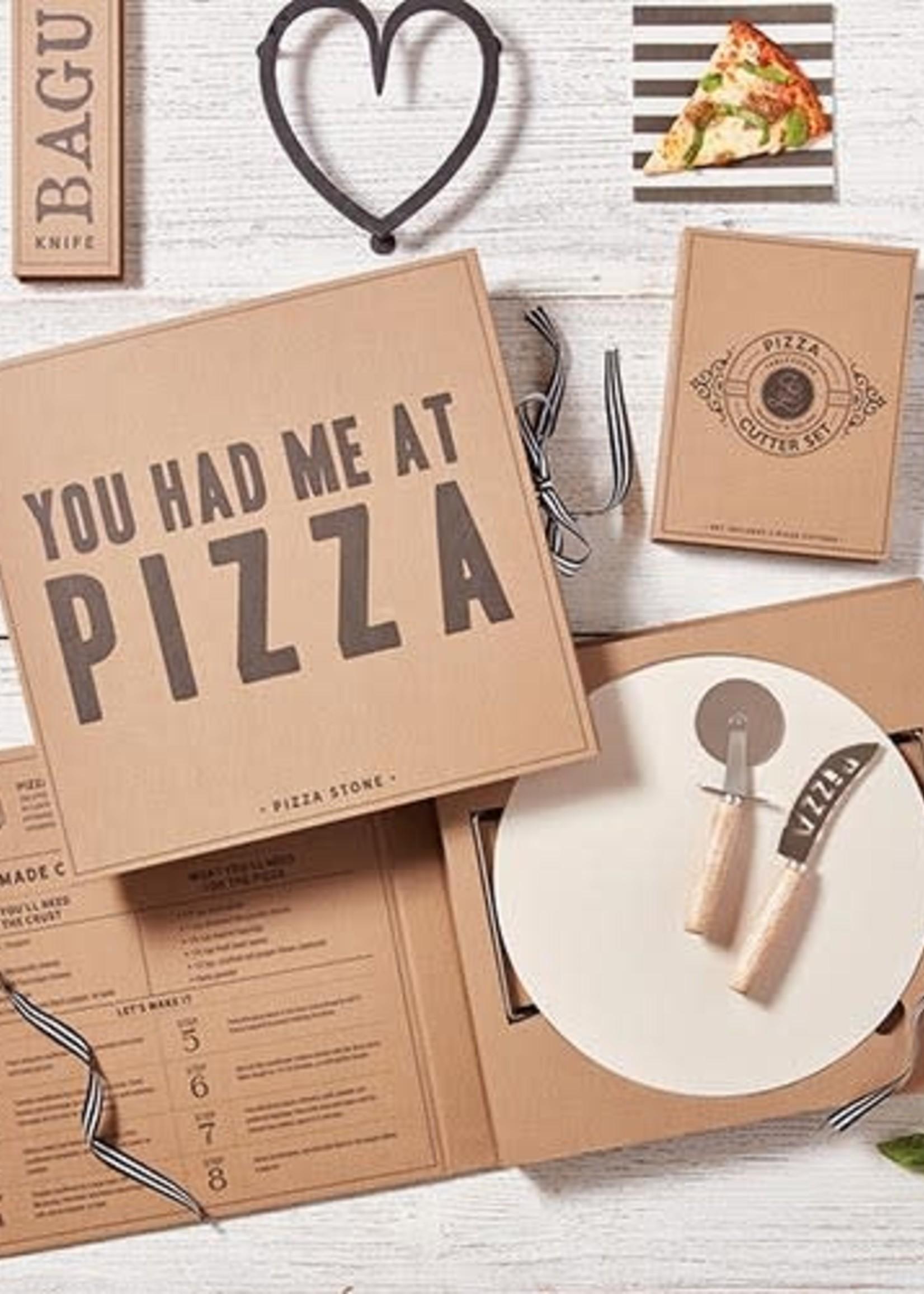 Pizza Stone Book Box