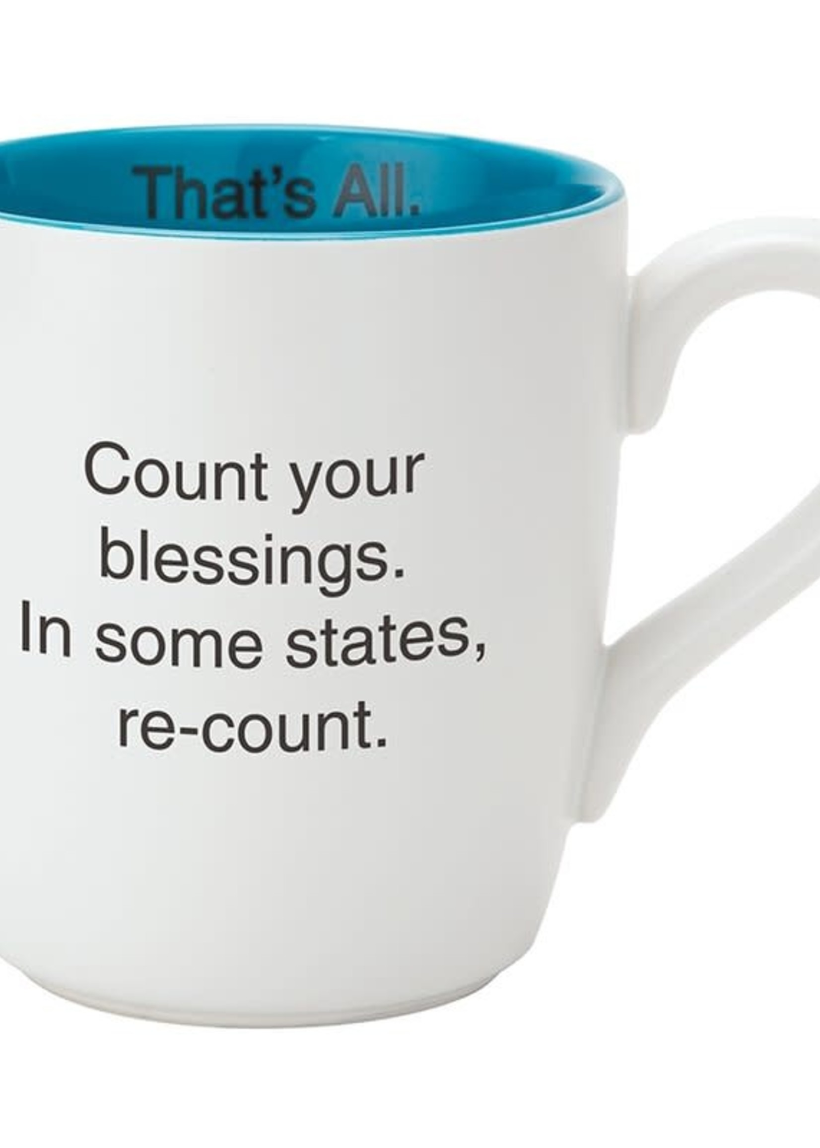 Count Your Blessings Mug