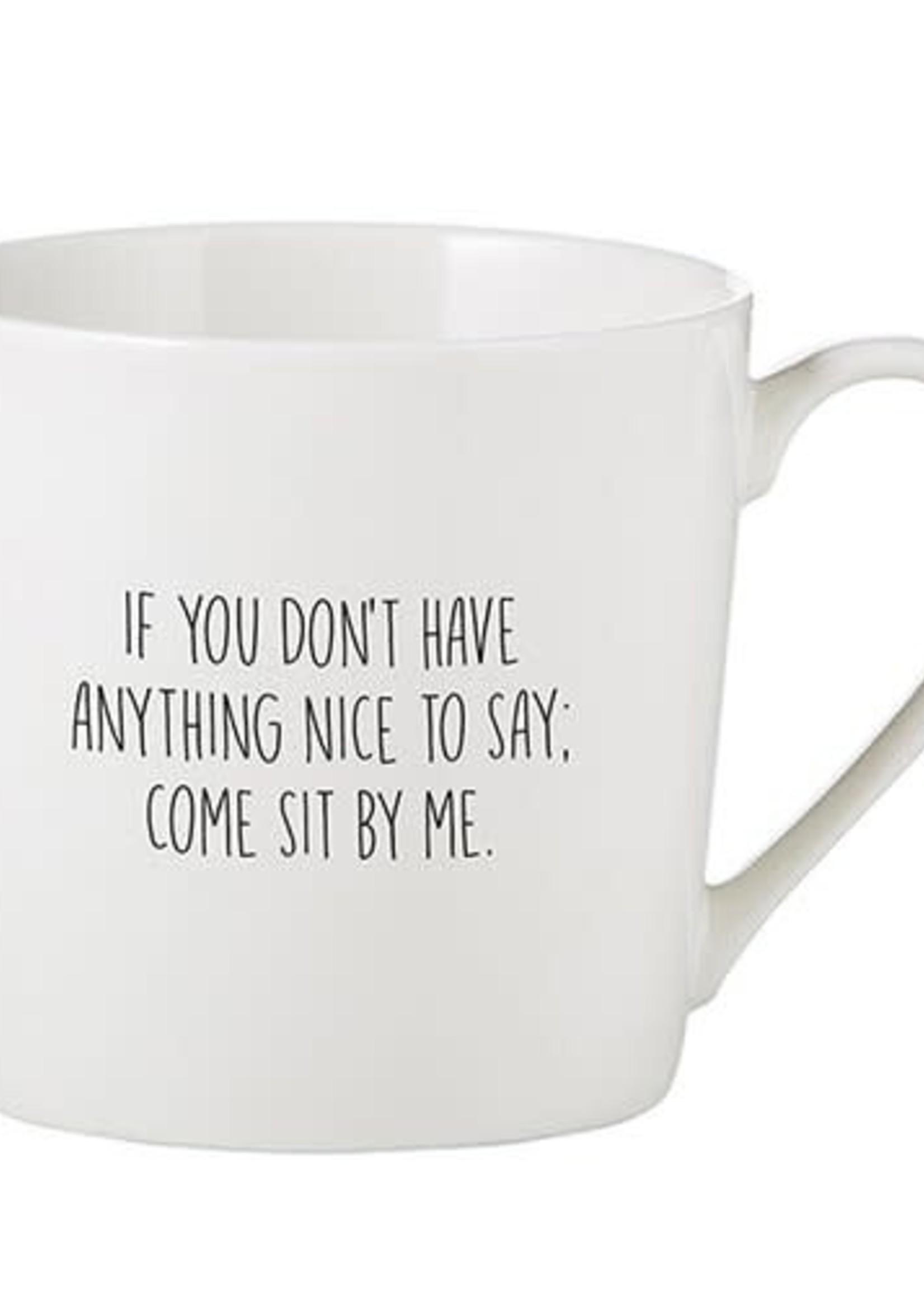 Nice To Say Mug