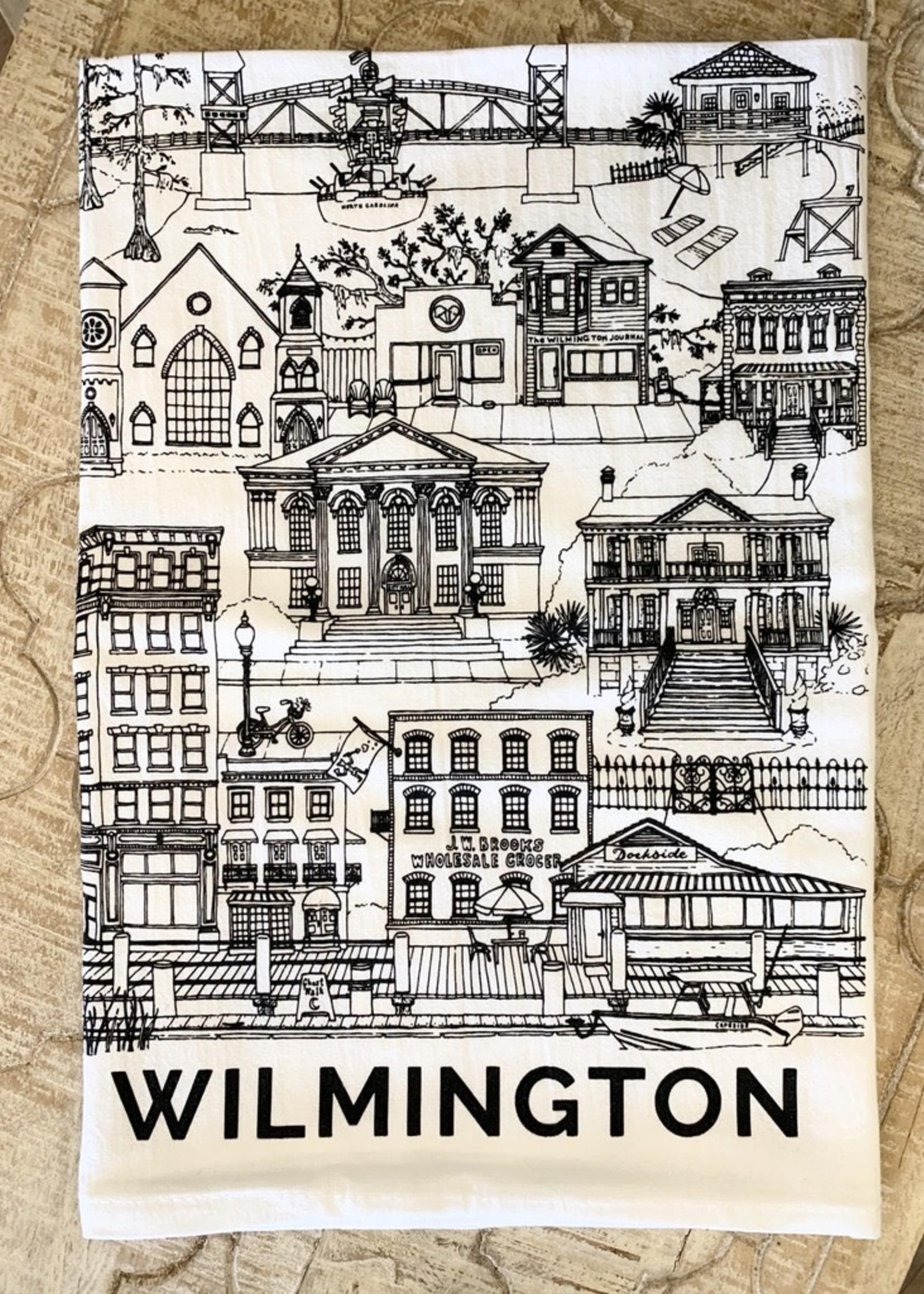Paper Mill Creative Wilmington Tea Towel
