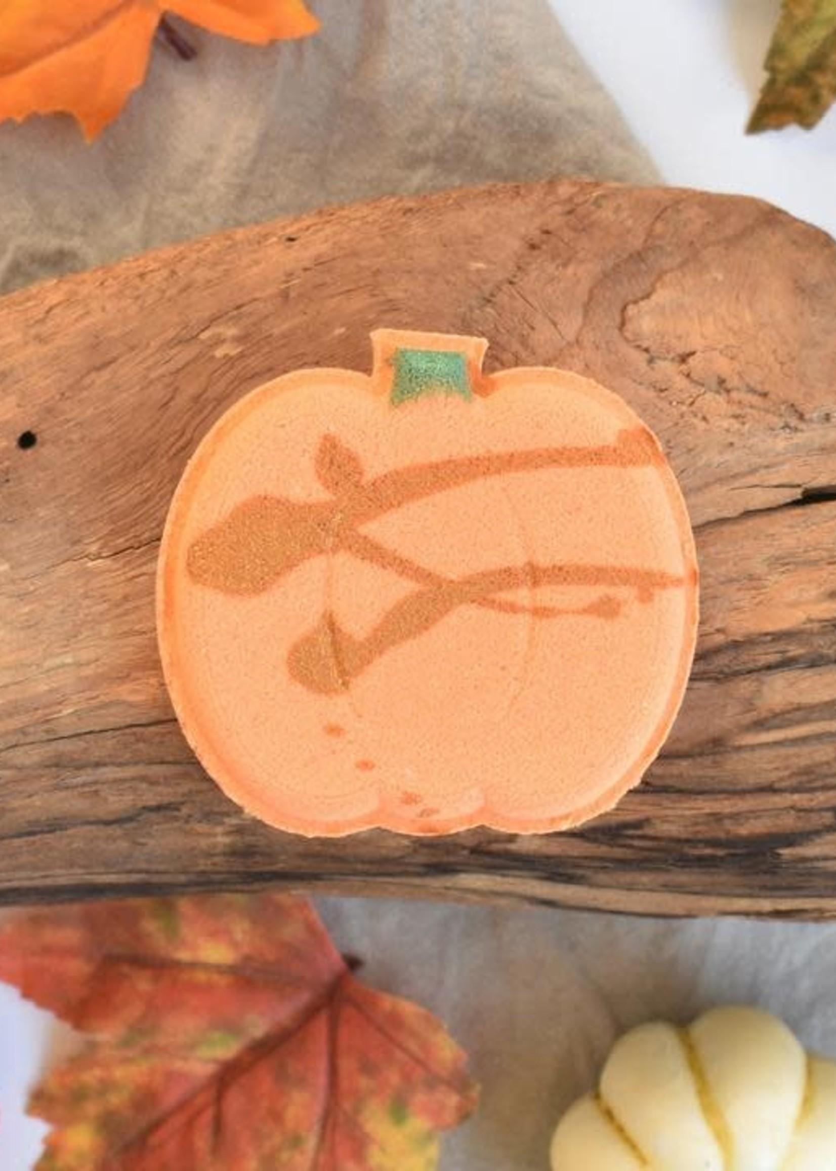 Hummingbird Naturals Pumpkin Cupcake Bath Bomb