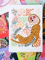 One & Only Paper Big Cat Assorted Postcards