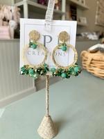 LPL Creations Kay Earrings in Green