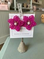 LPL Creations Anne Earrings in Fuchsia