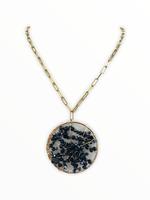 LPL Creations Serena Necklace in Black