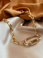 Bofemme Bofemme Bordeaux Necklace Gold