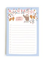 Happy Tines Owl To Dooo Notepad