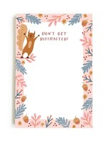 Happy Tines Distracted Squirrel Notepad