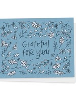 Happy Tines Grateful For You Woodland Card