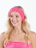 Bella Il Fiori Spa HeadBand in Hot Pink