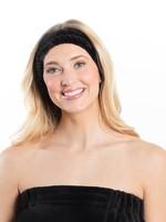 Bella Il Fiori Spa Headband in Black