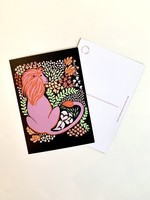 One & Only Paper Lion Postcard Print III