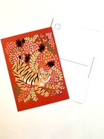 One & Only Paper Tiger Postcard Print II