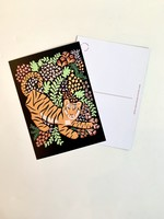 One & Only Paper Tiger Postcard Print III