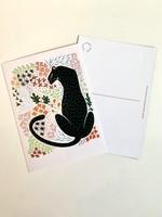 One & Only Paper Jaguar Print Postcard I