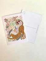 One & Only Paper Cheetah Postcard Print I