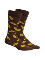 Yancy in Brown Socks