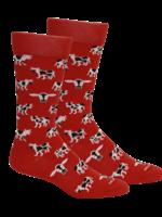 Mabel in Red Socks
