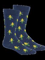 Maize in Insignia Blue Socks