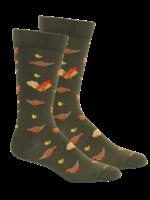 Coop in Sage Socks