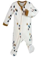 ZippyJamz All Spruced Up Footed Babysuit
