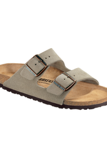 Arizona Taupe Suede Soft Footbed