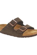Arizona Mocha Suede Soft Footbed