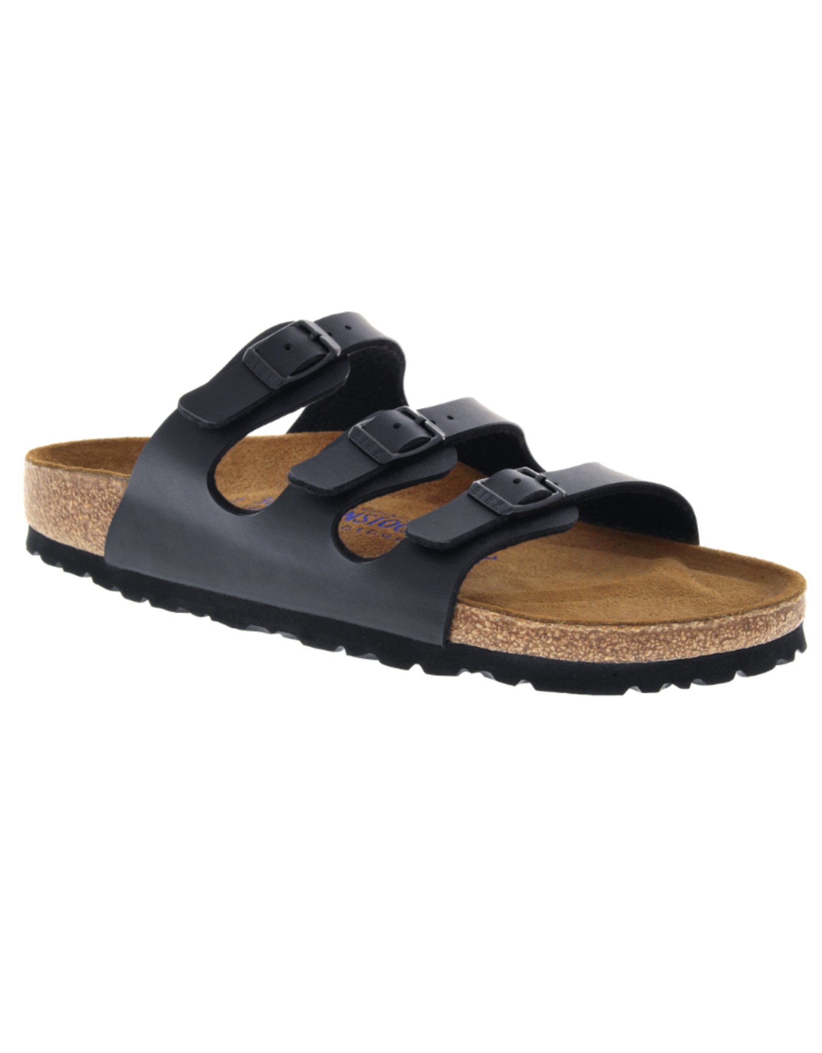 Florida Black Birko-Flor Soft Footbed
