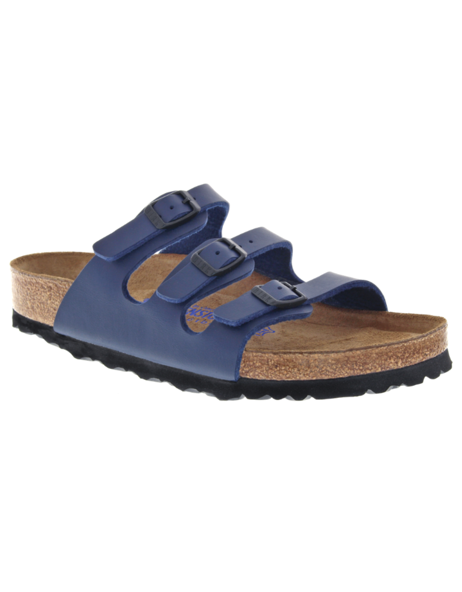 Florida Navy Birko-Flor Soft Footbed