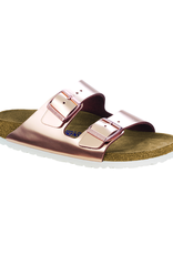 Arizona Metallic Copper Leather Soft Footbed