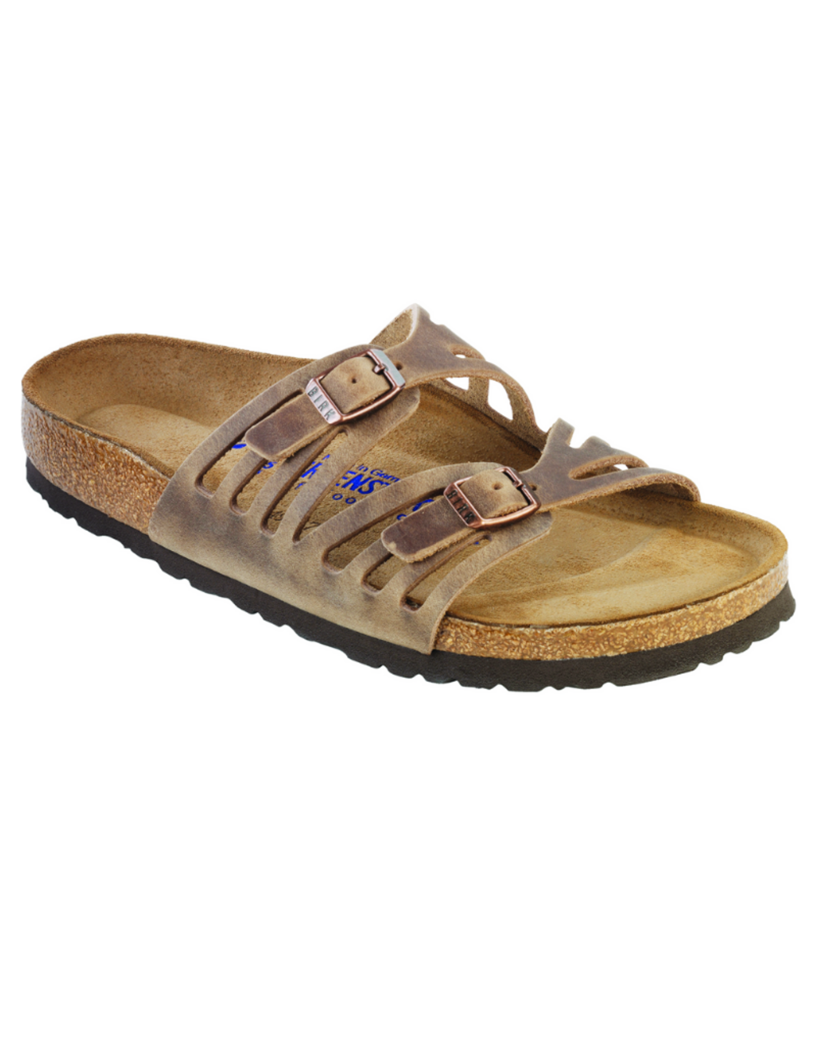 Granada Tobacco Oiled Leather Soft Footbed