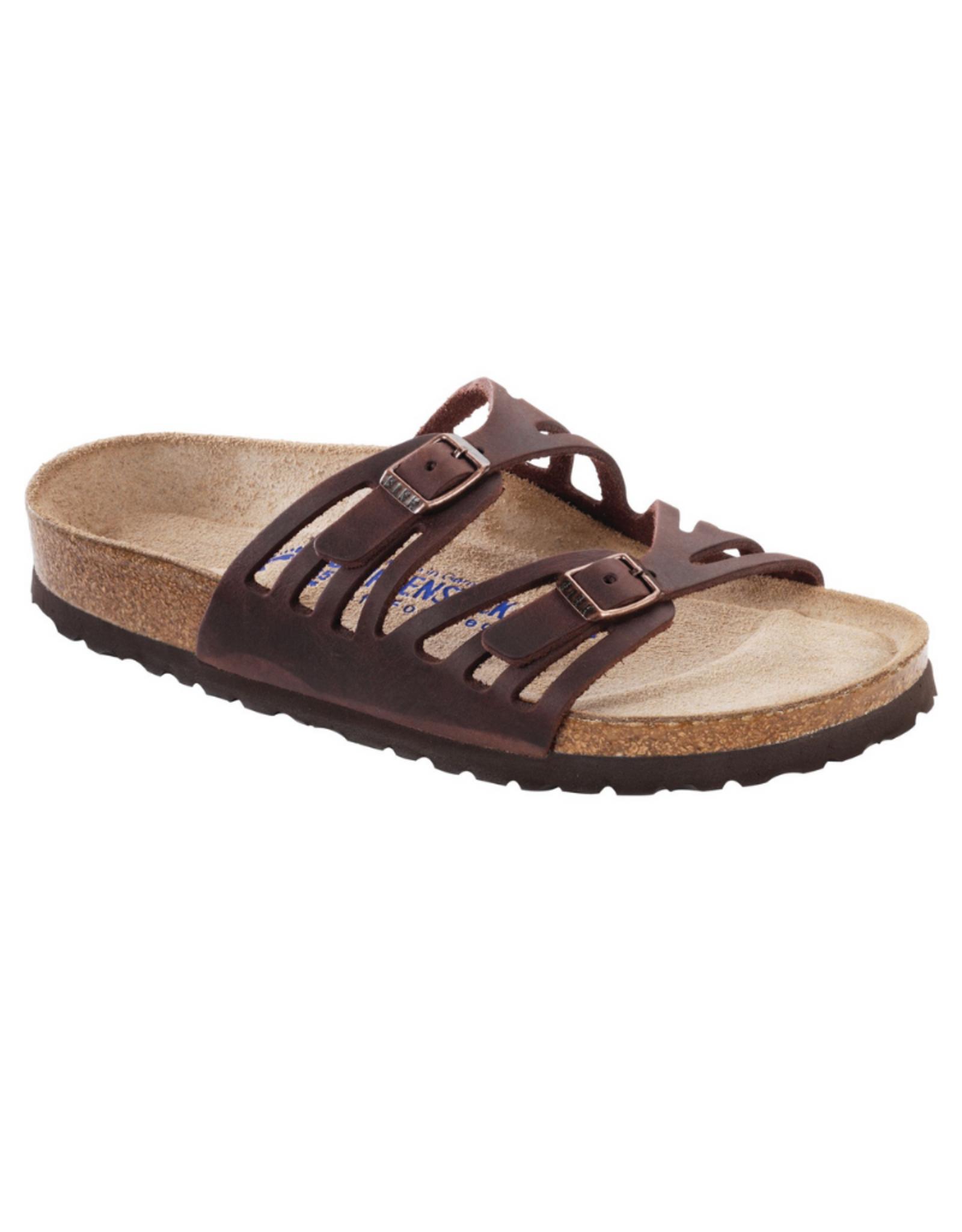 Granada Habana Oiled Leather Soft Footbed