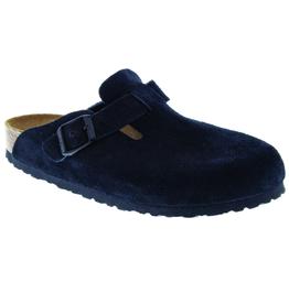 Boston Black Suede Soft Footbed
