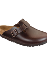 Boston Brown Amalfi Leather Soft Footbed