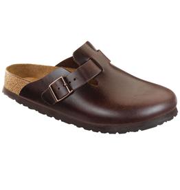 Boston Brown Amalfi Leather Soft Footbed