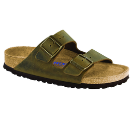 Arizona Jade Oiled Leather Soft Footbed